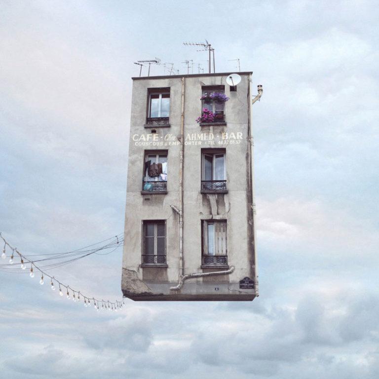 Flying House © Laurent Cherere