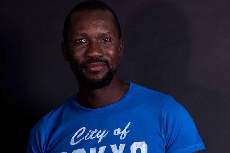 François Moïse Bamba, collectif La Ville, au loin