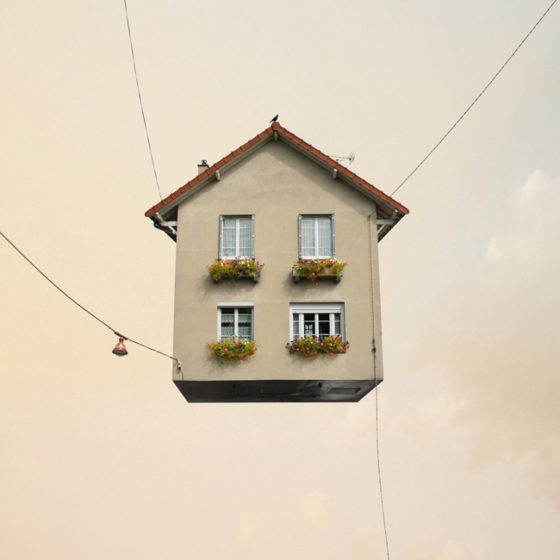 Flying House © Laurent Cherere